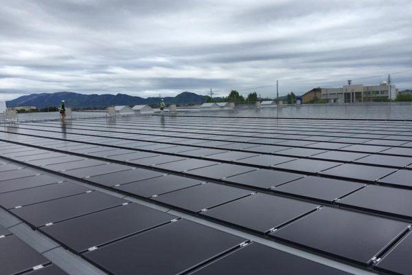 ホームセンター太陽光発電所新設工事