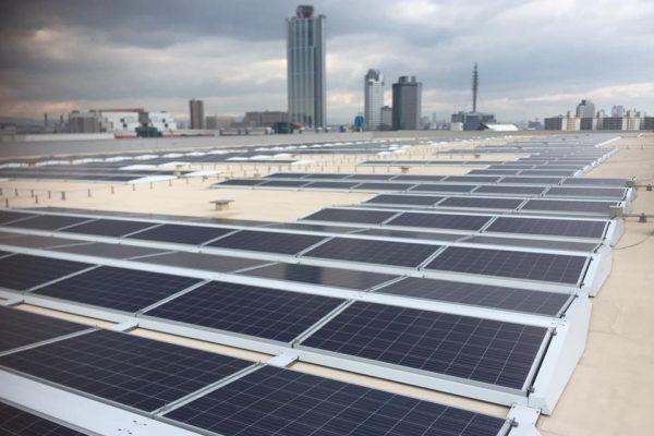 大規模太陽光発電所新設工事