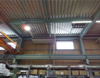 工場空調機設置工事