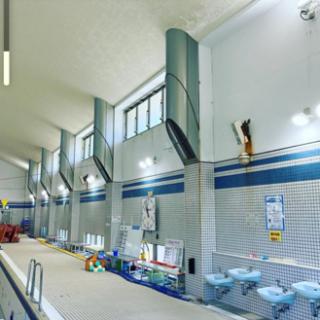 スポーツセンター照明器具交換工事